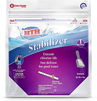 HTH 67044 Stabilizer Swimming Pool Defender, 4 lbs