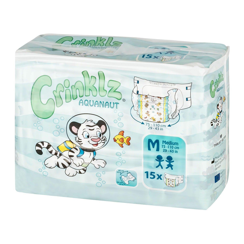 Crinklz Aquanaut Medium Pack of 15