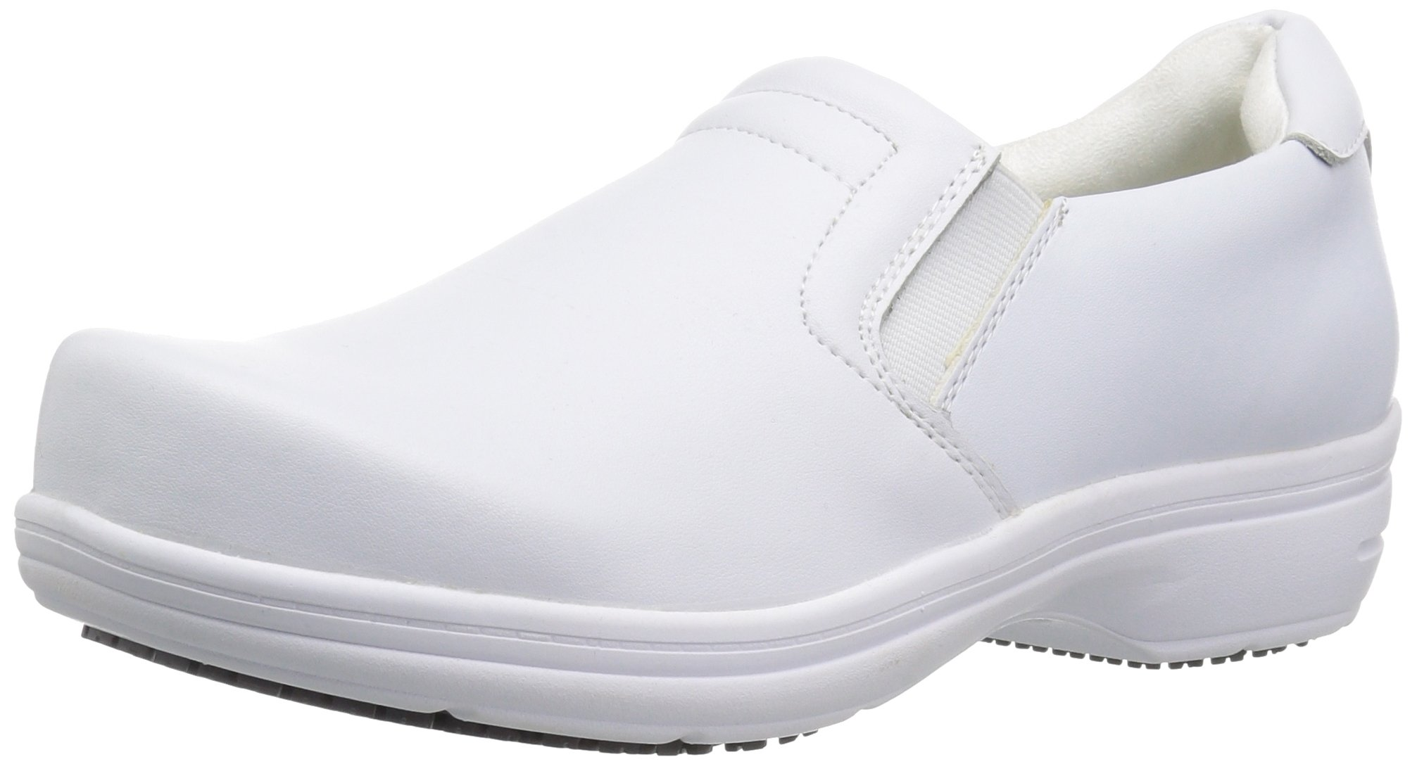 Easy Works Women's Bind Health Care Professional Shoe, White, 8.5 M US