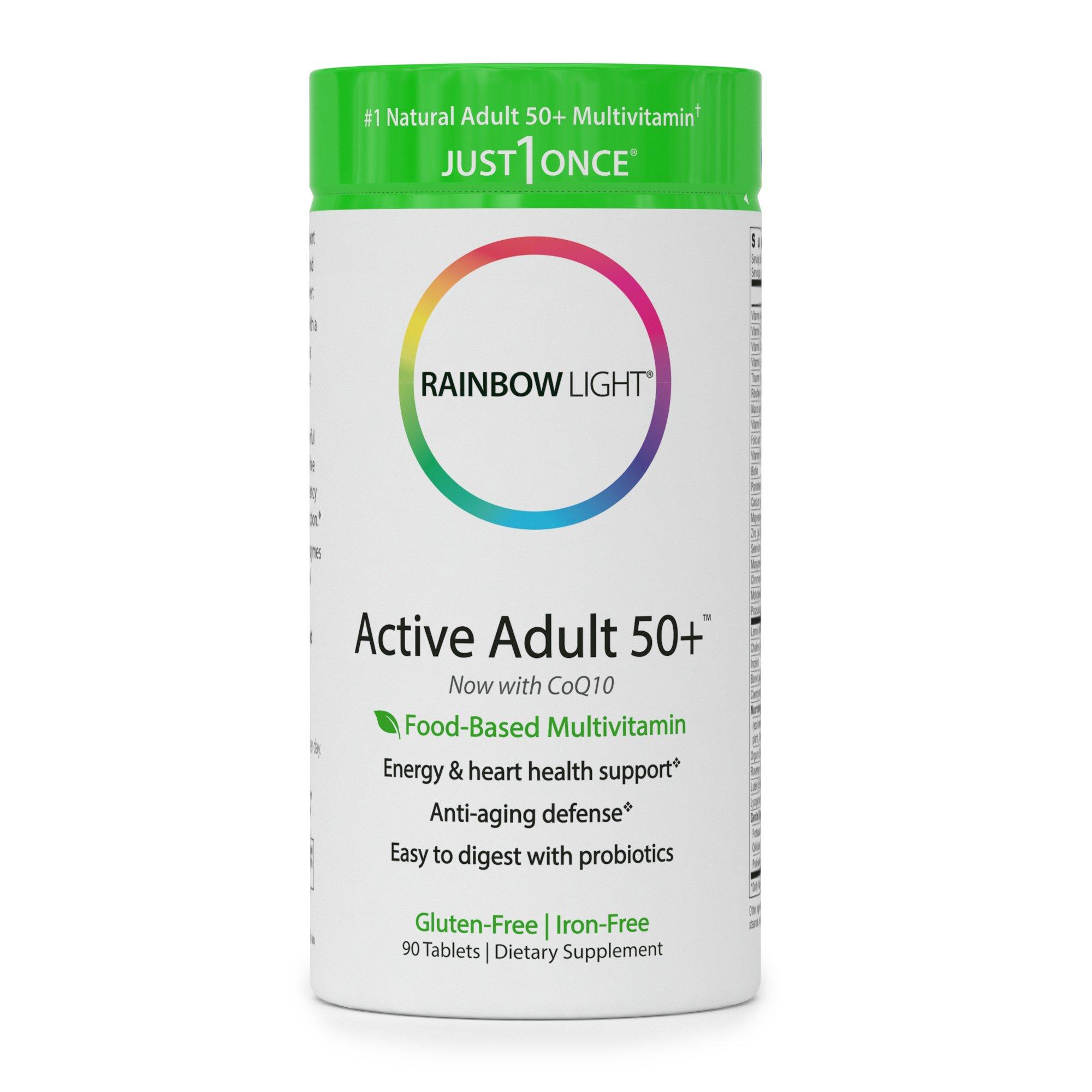 Rainbow Light Active Adult 50+ Multivitamin - 90 Tab