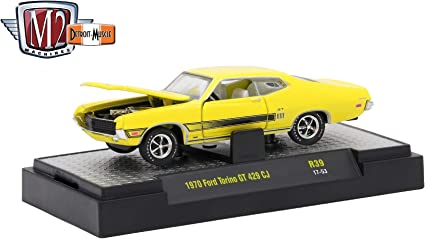 Detroit Muscle Fun Lines Exclusive Release 2017 Castline Premium Edition 1:64 Scale Die-Cast Vehicle M2 Machines 1968 Ford Mustang Shelby GT500KR FL01 18-15