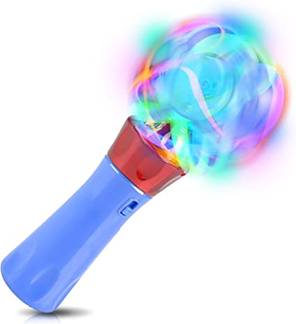 Amazon.com: artcreativity ilumina Orbiter Spinning varita ...