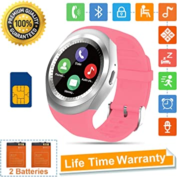 Tipmant SN05 Smartwatch Fitness Armband (Pink): Amazon.es: Electrónica