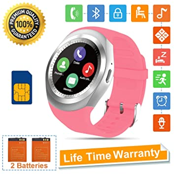 Tipmant SN05 Smartwatch Fitness Armband (Pink): Amazon.es ...