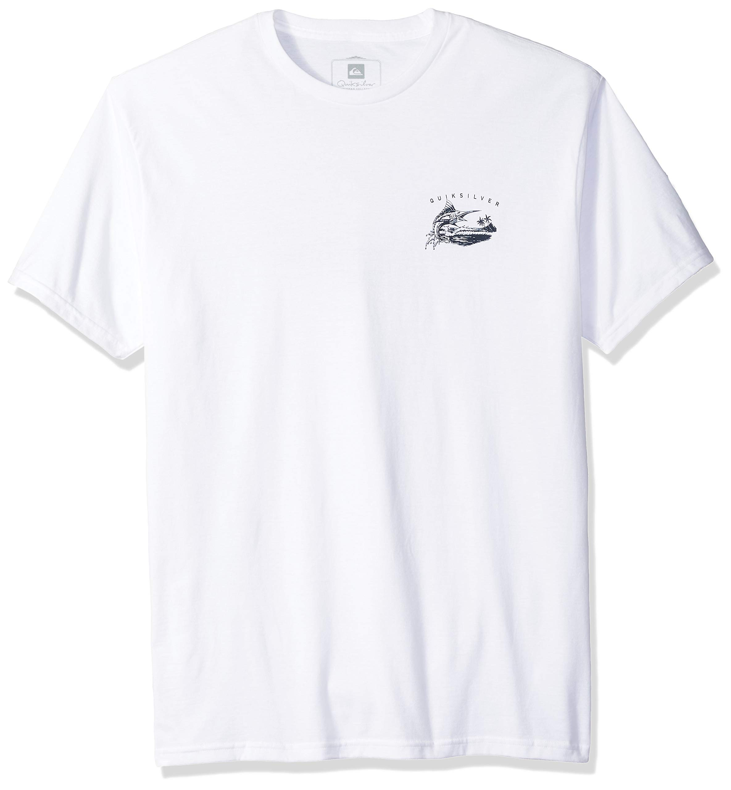 Quiksilver Men's The Jumper TEE Shirt, White, L