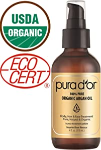 Sweepstakes: PURA D'OR (4 oz) Organic Moroccan Argan...