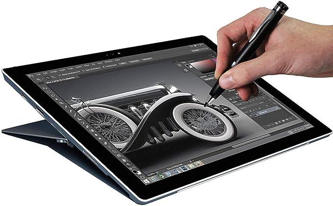 Broonel Black Mini Fine Point Digital Active Stylus Pen Compatible with The Haehne 7 Tablet