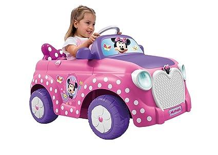 FEBER - Coche eléctrico Minnie de juguete, 6 V (Famosa 800008603 ...