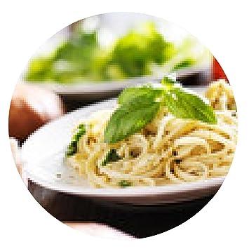 alfombrilla de ratón plato de espaguetis con salsa de pesto italiano: Amazon.es: Electrónica