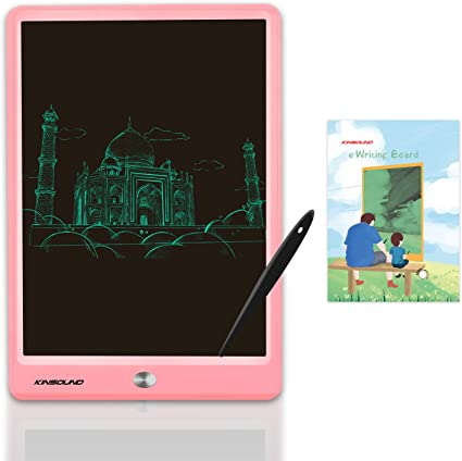 Drawing Board eWriter 10 Inches Graffiti Pad Paperless LCD Handwriting Drawing Board For Student Electronic Blackboard for Kids and Adults at Home,School and Office Color : Pink , Size : 10 inches