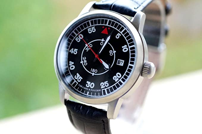 Amazon.com: Hand Watch Laco POLJOT AVIATOR Russian Wrist Watch Military Mechanical: Everything Else