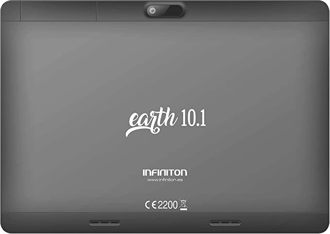 Tablet INFINITON 10 Pulgadas Earth 10.1 3G (Plata), Quad Core 1.3 ...