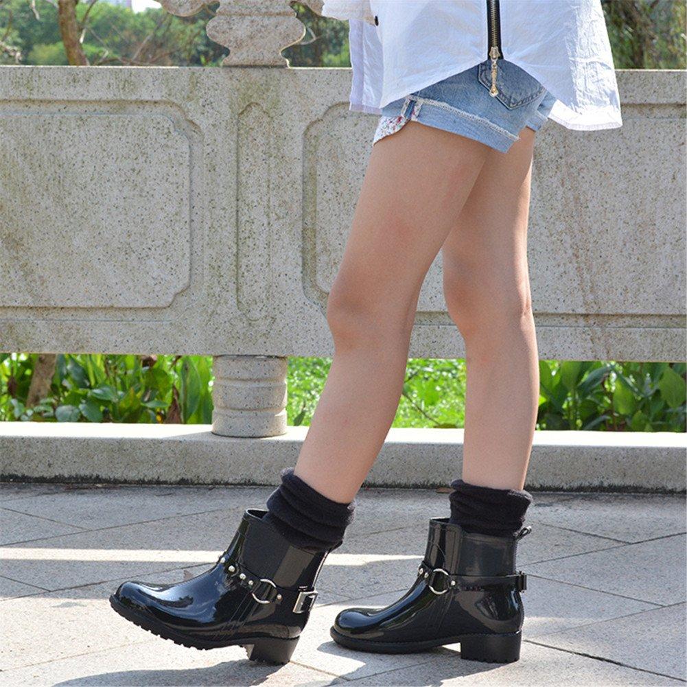 Paragon Stivali di gomma Donna Stivali da pioggia Scarpe da Moda Stivaletti  da equitazione Chelsea boots (EU 15 41cbeefc5e7