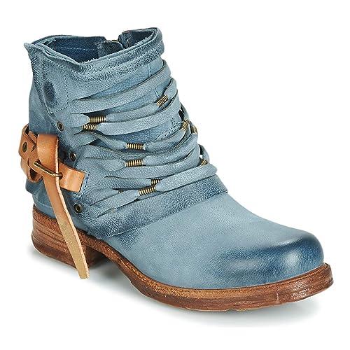 on sale 31a94 3e0ca Airstep / AS98 Saint Stiefelletten/Boots Damen Blau Boots