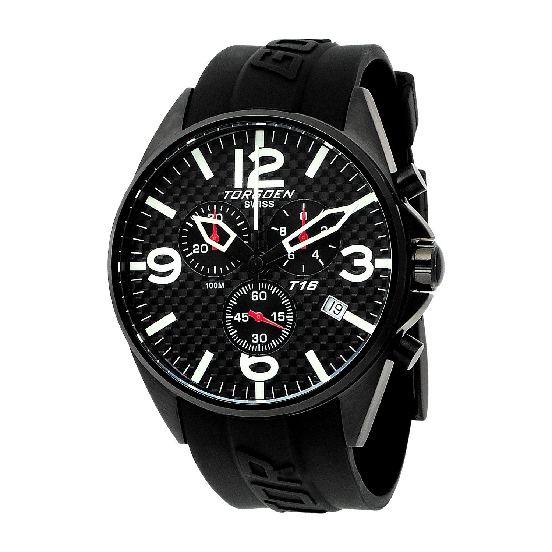 Torgeon Herren-Armbanduhr Analog schwarz T16302