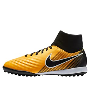 Nike JR Magistax Onda II DF TF - Zapatillas de fútbol Sala, Unisex Infantil, Naranja - (Laser Orange/Black-White-Volt): Amazon.es: Deportes y aire libre