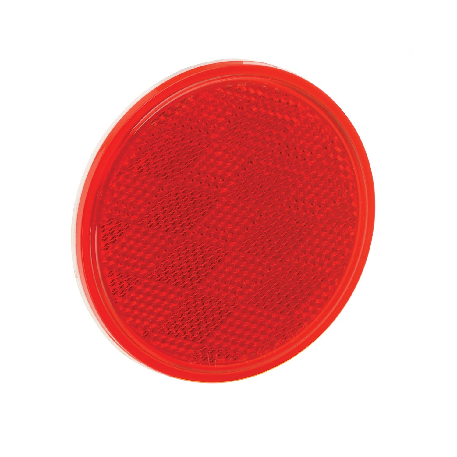 Round 3-3//16 Red Bargman 70-38-010 Reflector with Adhesive Mount