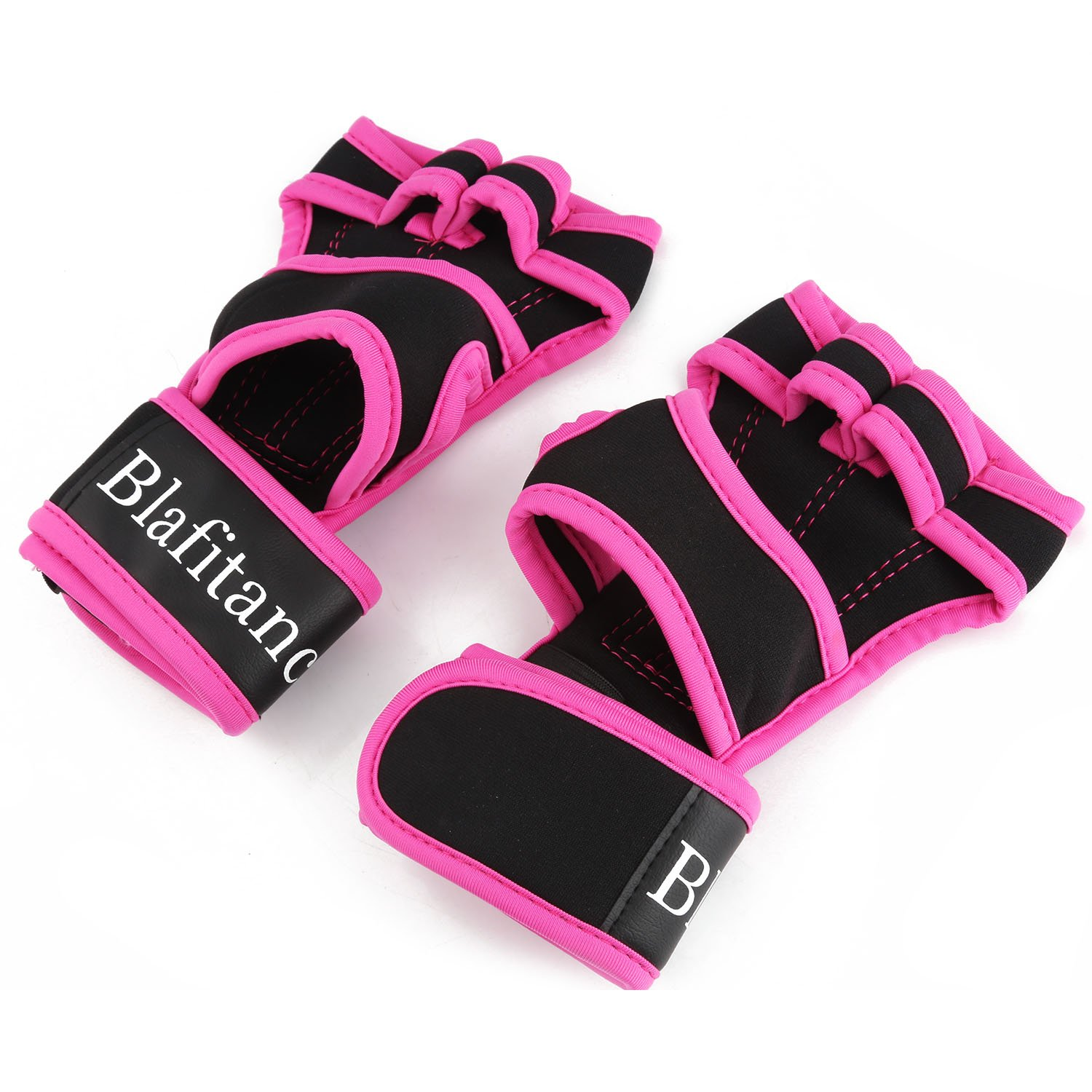 Cross Training Gloves with Wrist Support for WODs,Gym Workout, Pull Ups, Weightlifting & Fitness, Gloves with Full Palm Protection & Extra Grip, No Calluses, Suits Men & Women (Pink, Medium)