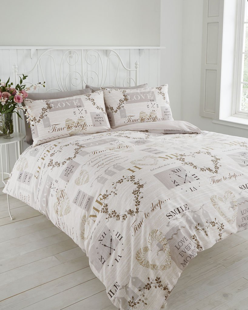 vintage heart traditional home duvet cover bed sets double