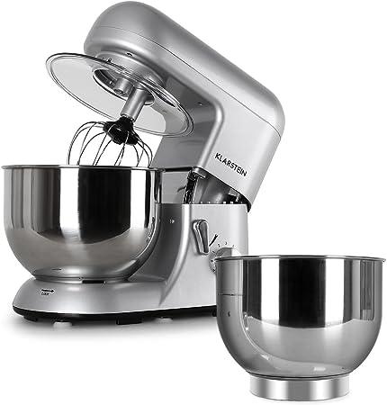 Klarstein Bella Argentea Set Robot de cocina y accesorios (1200W ...