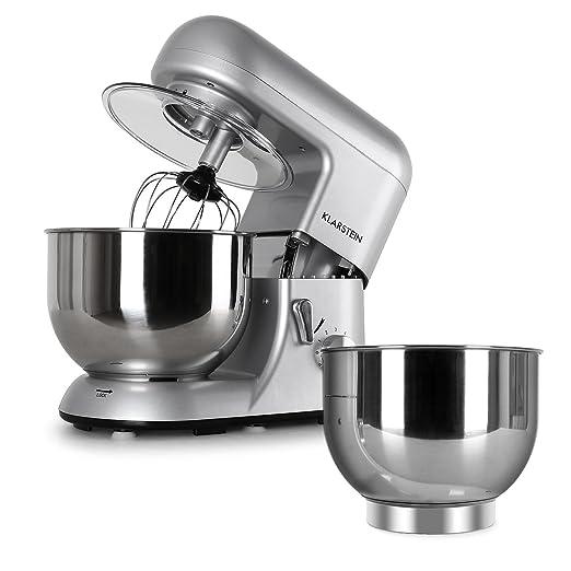 211 opinioni per Klarstein Bella Argentea Set Robot da Cucina Multifunzione Mixer impastatrice