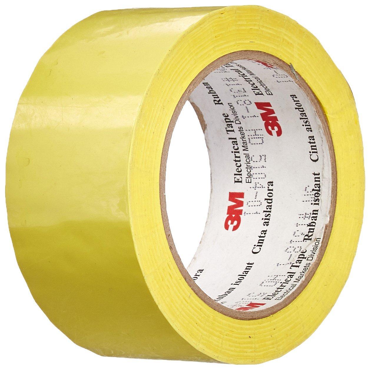 TapeCase 3M 1318-1Y - Cinta eléctrica amarillo (2 x 72 yDS, 1 rollo), color amarillo eléctrica 4df1b6
