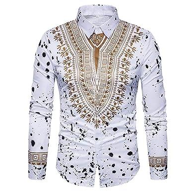 Binggong Herren Shirt, gut aussehend Persönlichkeit Männer
