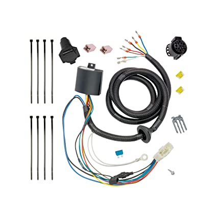 amazon com tekonsha 118274 t one connector assembly with upgraded rh amazon com automotive wiring specialist near me Automotive Relay Wiring