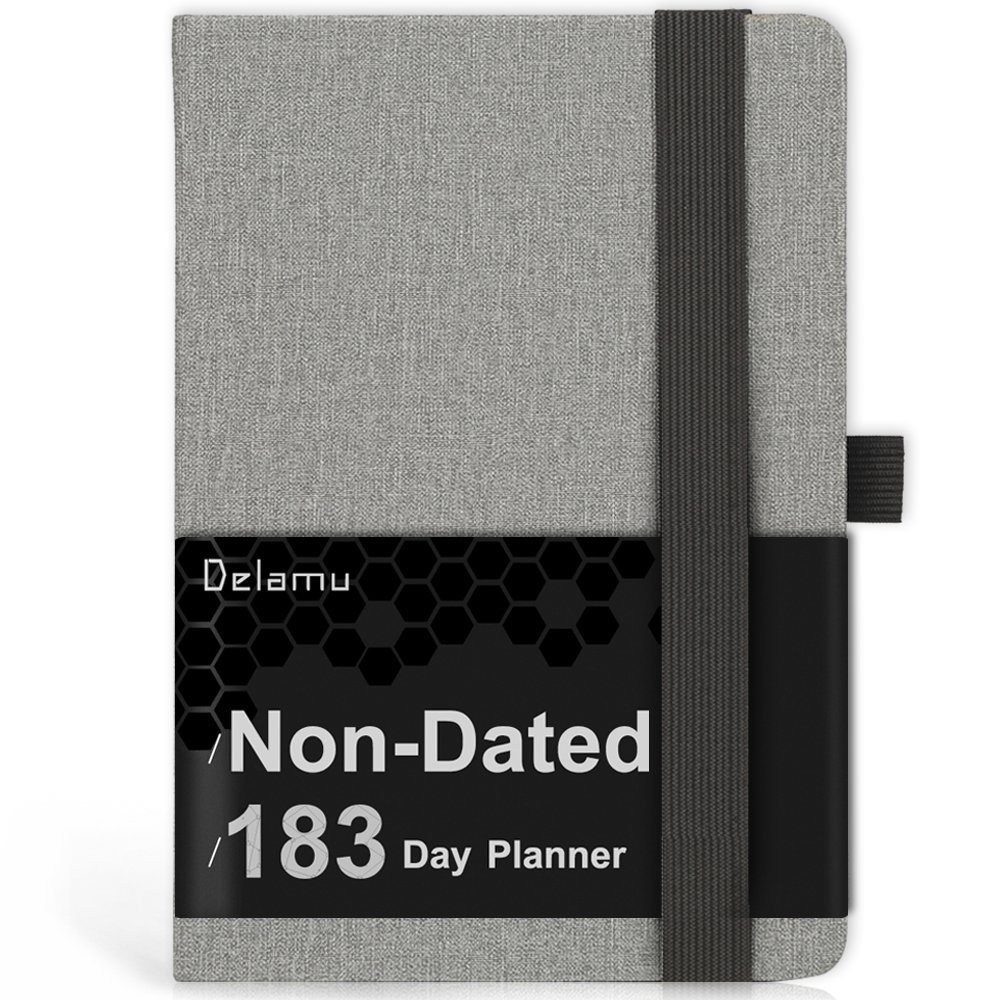 Planner 2018-2019, AcademicDaily Weekly Monthly Planner with to-Do-List, Journal Organizers with Pen Holder, Thick Paper to Achieve Your Goals, 8.3''x 5.7'', 240 Pages