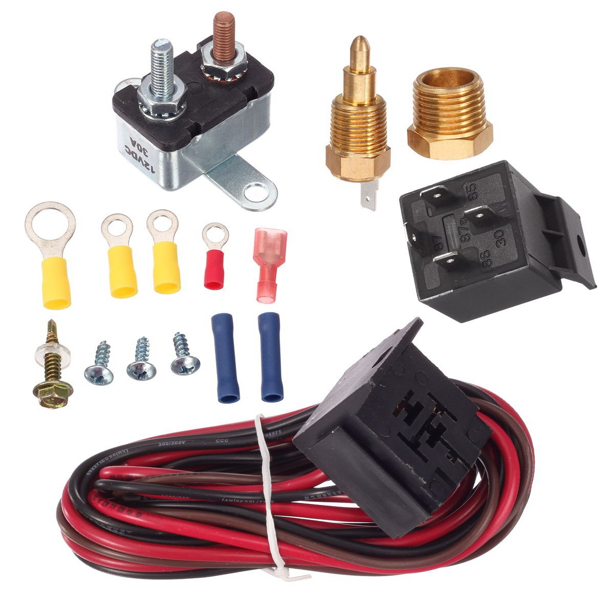 95 Mustang Cooling Fan Wiring Harness Motorcycle And Car Engine