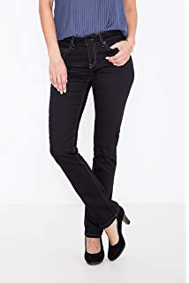 ATT Jeans Basic Straight Cut Jeans in cleanem Look Stella Damen 5-Pocket- Jeans 7a3a63f730