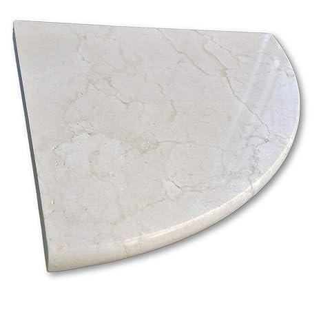 Marble Corner Shower Shelf.New 8 Marble Shower Corner Shelf Soap Dish Classic Marfil Natural Stone Bathroom Caddy Bath Shampoo Holder