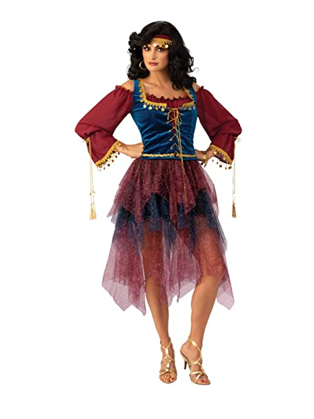 Amazon.com: Rubies Costume Co - Disfraz de gitana para ...