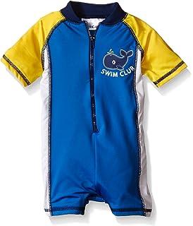 226e8b5cae Amazon.com: Baby Boys Rashguard Swim Shirt - Ahoy Matey 6/9 Months ...