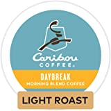 Caribou Coffee Daybreak Morning Blend, Single-Serve Keurig K-Cup Pod, Light Roast Coffee, 24 Count