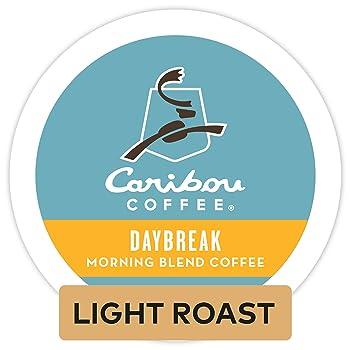 Caribou Coffee Daybreak Morning Blend Espresso K Cup