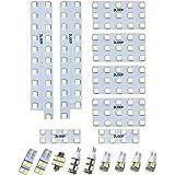 3チップSMD17点ヴェルファイア アルファード 20系/25系 前期/後期 LEDルームランプ