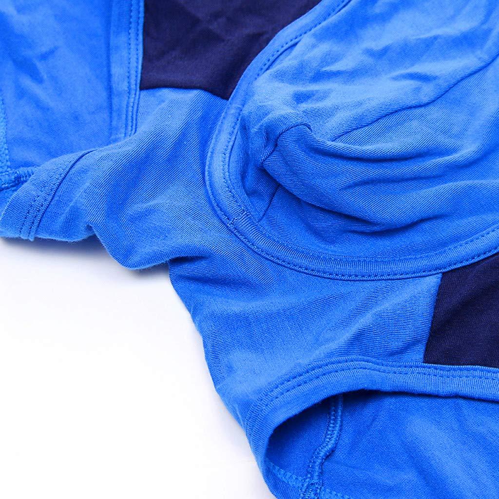 Mymyguoe Pantalones Cortos de algod/ón Transpirable Slips Hombre Bragas Pantalones Cortos De Ropa Interior Calzoncillos Braguitas Hombre Slips Hombre Calzoncillos Boxer Briefs Tanga