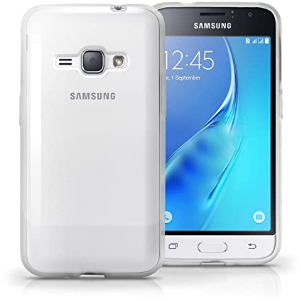 Samsung Galaxy J1 4G (2016) Transparent Back Cover Silicone Soft Gel TPU -  100% Clarity by DRaX