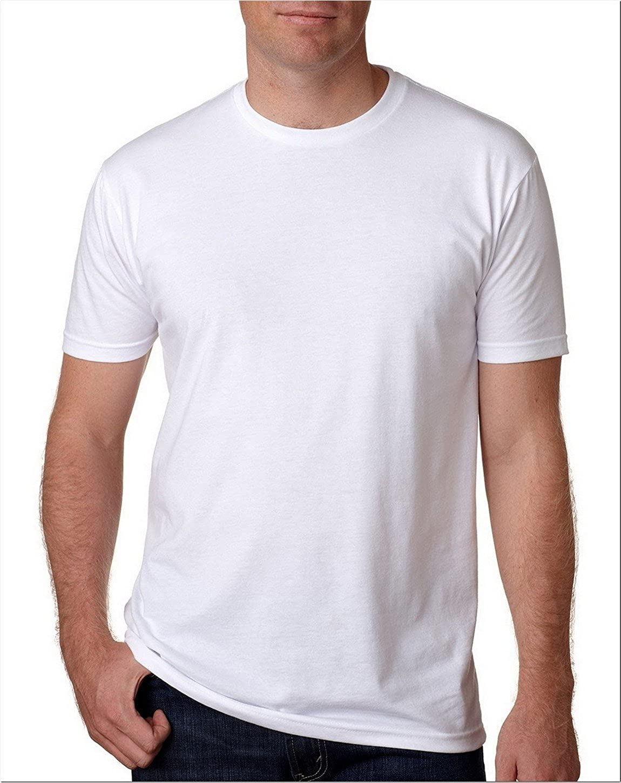 - Medium 2 Pack Next Level Mens Premium Fitted Short-Sleeve Crew T-Shirt Midnight Navy White