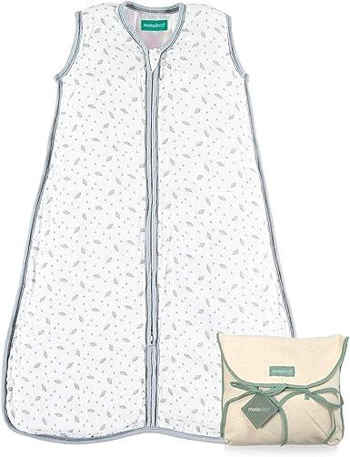 molis/&co 2.5 TOG S/úper Suave y c/álido Muselina Premium Acolchado. Saco de Dormir para beb/é Ideal para Entretiempo e Invierno