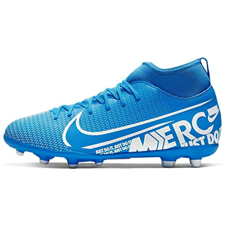 Tentáculo Deformar Gracia  Nike Jr. Mercurial Superfly 7 Club MG (AT8150-414) (US-2.5): Amazon.in:  Sports, Fitness & Outdoors