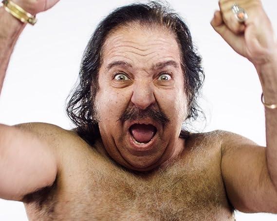 Ron Jeremy - Foto de fotos (8 x 10 cm), diseño de Ron Jeremy