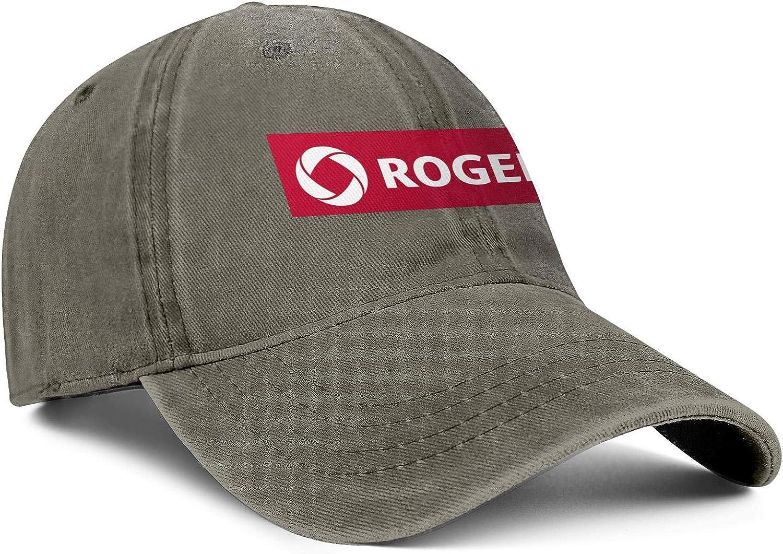 Men Women Caps Rogers Logo Hat Snapback Baseball Denim Cap Top Level Hats