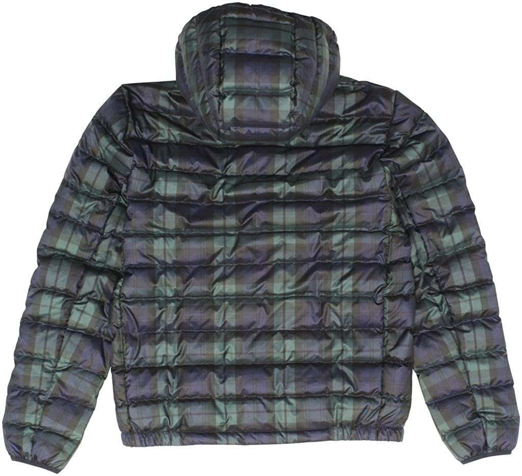 92b61f316c5a RALPH LAUREN Polo Men s Packable Hooded Down Jacket Small Multi at Amazon Men s  Clothing store