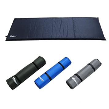 Uni Best Incluso en blasende Aire Colchón autoinflable aire Matte único persona 202 x 70 x 5 cm, azul claro: Amazon.es: Deportes y aire libre