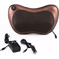 Agrani Traders Infrared Rotating Electric Neck And Back Massager Pillow - Brown
