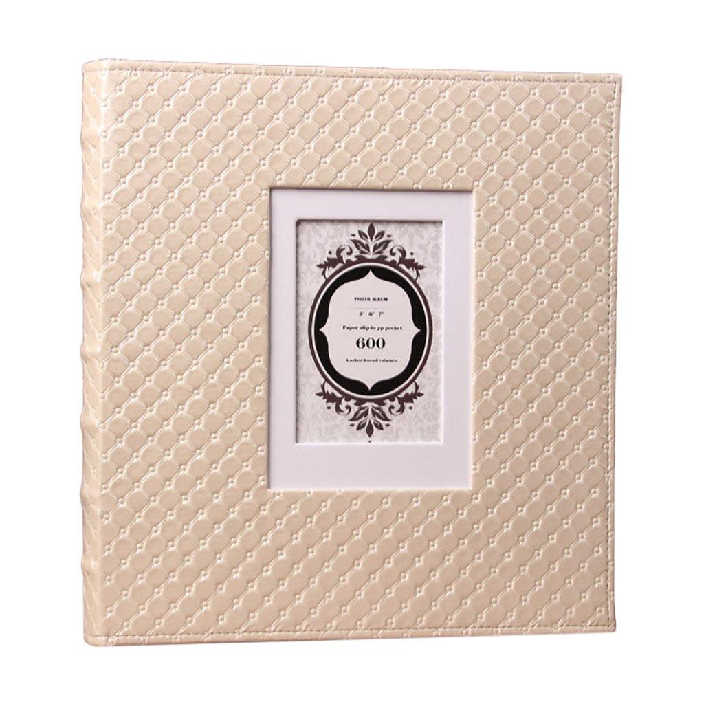 SESO UK- Álbum de Fotos Creativas, álbum de Aniversario, álbum de de Boda, álbum de Recuerdos de álbum Crecimiento del bebé (Tamaño : 480 Photos) f5f9a0