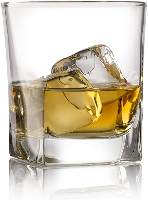 16257d82ce4 Double Old Fashioned Whiskey Glass (Set of 4) with Granite Chilling Stones  - 10
