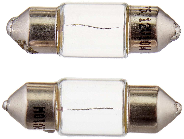 HELLA DE3175TB Standard-10W Standard Miniature 3175 Bulbs, 12V, 10W, 2 Pack